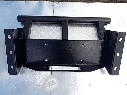 Защита рулевых тяг на Патриот (УАЗ-3163) с площадкой под лебедку